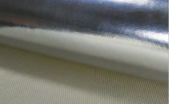 Mylar Coated Fiberglass Cloth One Side