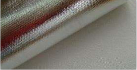 Mylar Fiberglass Cloth  One Side