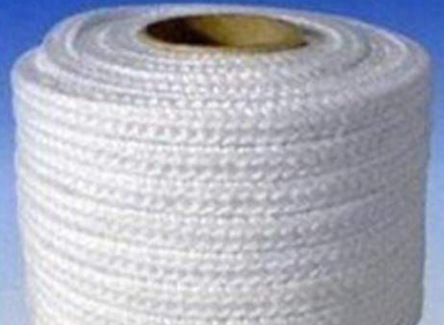 Biosoluble Square Ropes+Fiberglass---HPB03G Biosoluble Fiber Braided Insulation Square Ropes+Fiberglass Filament