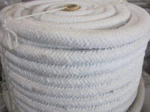 HPB02G Biosoluble Fiber Braided Round Thermal Ropes+Fiberglass Filament Reinforcement