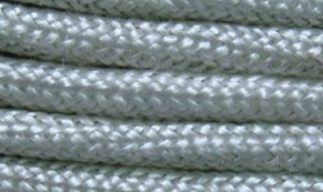 HISILICA Round Ropes--* Shape: Round braided  * Diameter: 4mm up to 50mm  * Temp.resistance: 1100 ℃  * Material: Texturized Hisilica Fiber Yarns  * Property: Most acids and alkalis resistance